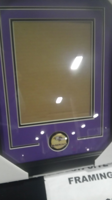 Frames wow factor display cases baltimore ravens 16x20 vert solutioingenieria Images